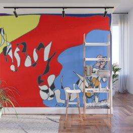 Sliding in to Third: Tim Koss          by Kay Lipton Wall Mural