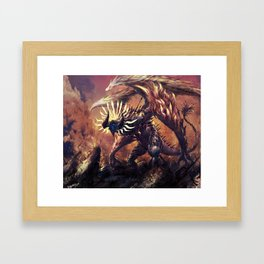 GOD OF WAR Framed Art Print