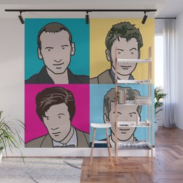 Doctors 9 to 12 Wall Mural