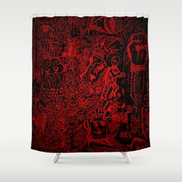 Cesco Art - First Edition Shower Curtain