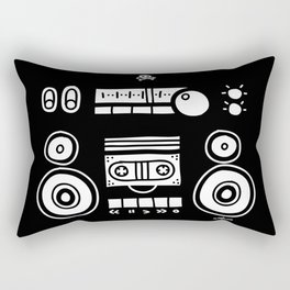 Boomboombox Rectangular Pillow