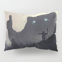yo bro is it safe down there in the woods? yeah man it's cool Pillow Sham