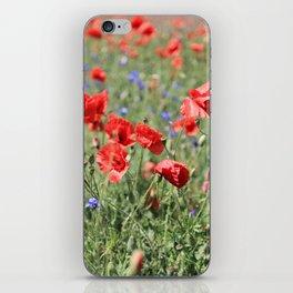 poppy flower no9 iPhone Skin