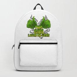 This Girl Loves Da Weed | Cannabis THC CBD Stoner Backpack
