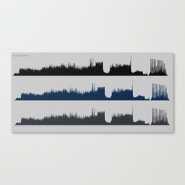 Upholstery Wave Form  Canvas Print