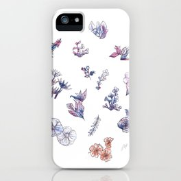 Flower [01] iPhone Case