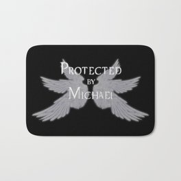 Protected by Michael Bath Mat