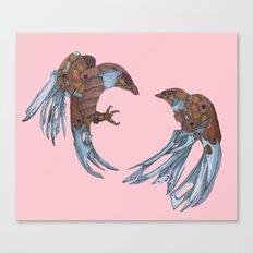 LOVE + BATTLE Canvas Print