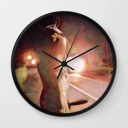 Hitchhiker Wall Clock