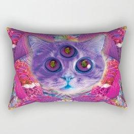 3rd eye tacocat Rectangular Pillow