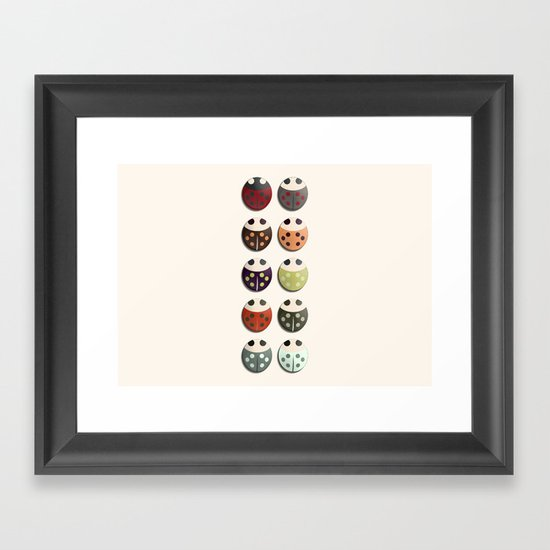Ladies and... Framed Art Print