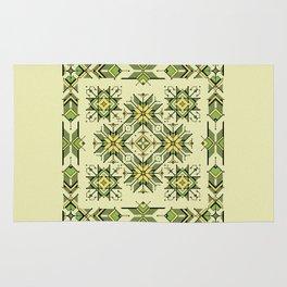 shaman trance   tribal pattern Rug