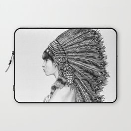 Ginger Flower Laptop Sleeve