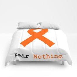 Fear Nothing: Orange Ribbon Awareness Comforters