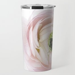 Pink Ranunculus Flower I Travel Mug