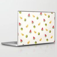 fruits Laptop & iPad Skins featuring Fruits by Carolin Vogt