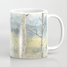 Tender Birch Forest Coffee Mug