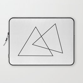 Double Triangles Laptop Sleeve