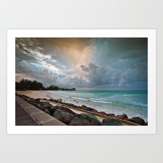 Barbados Sunrise Art Print