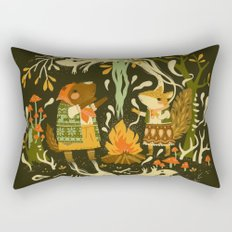 Animal Chants & Forest Whispers Rectangular Pillow