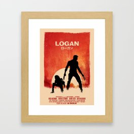 Logan Framed Art Print
