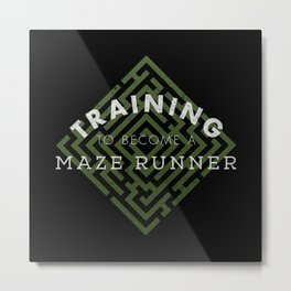 Training: Maze Runner Metal Print
