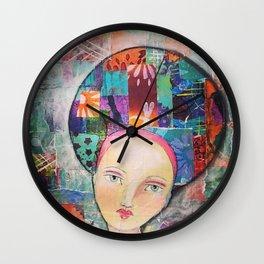 SASS Girl - Aubrey Wall Clock