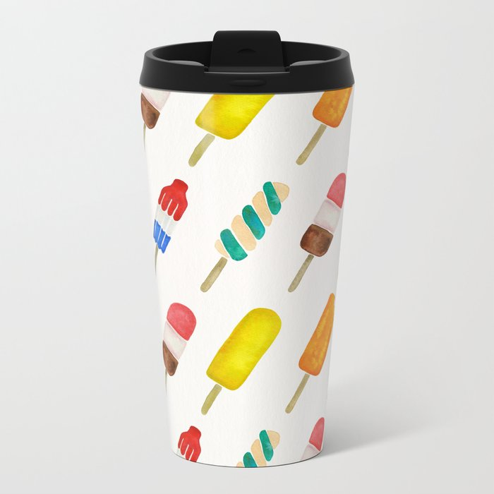 Popsicle Collection Metal Travel Mug