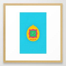 Tamagotchi Framed Art Print