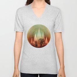 TREES under MAGIC MOUNTAINS I Unisex V-Neck