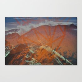 Untitled (Aiguille Rouge) Canvas Print