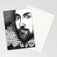 William Shakespeare Portrait - The Tudor Illustration Series Stationery Cards