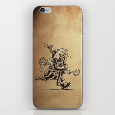 Steam powered Pirate iPhone & iPod Skin