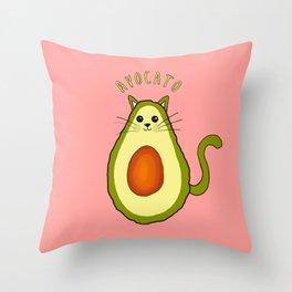 Avocato avocado Throw Pillow