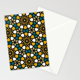 Persian Mosaic – Marigold Palette Stationery Cards