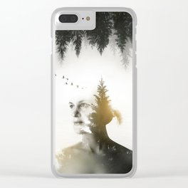 Soul of Nature Clear iPhone Case