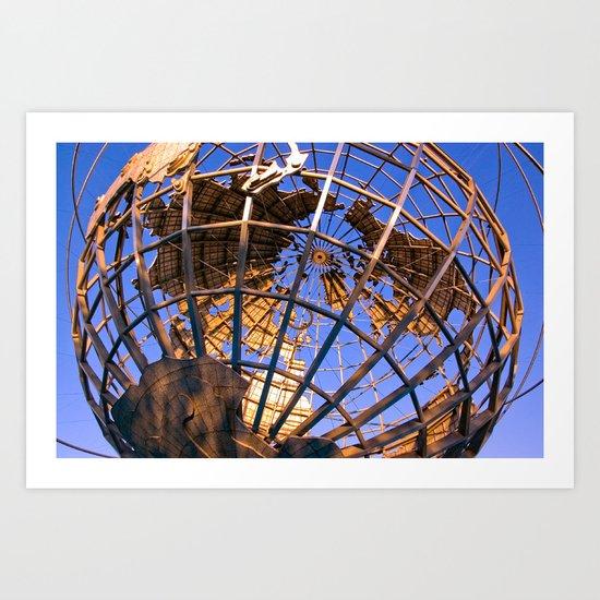 Unisphere  Art Print