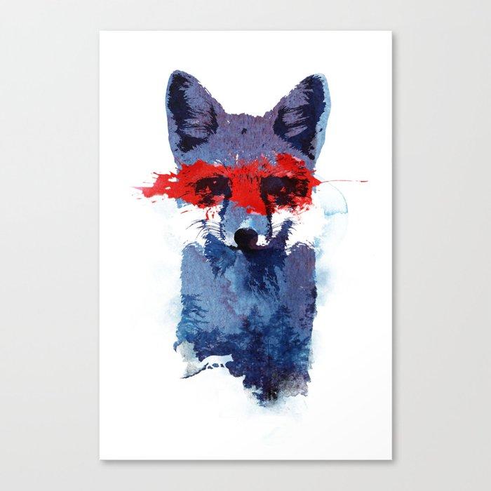The last superhero Canvas Print