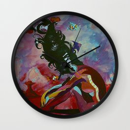sound and silence Wall Clock