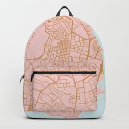 Napoli map Italy Backpack