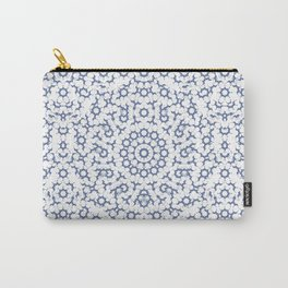 Radial Mandala Ornate Pattern Carry-All Pouch