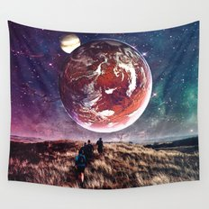 Towards New Worlds Wall Tapestry