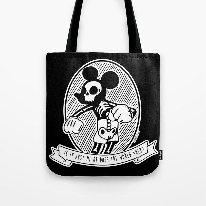 5353fe6759b7d Alternative Punk Mickey Mouse Tattoo Art Tote Bag by zombiecraig ...