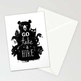 Go Take A Hike Stationery Cards