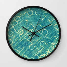 Life is a puzzle 11 Wall Clock