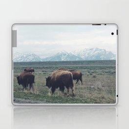 Roaming Buffalo Laptop & iPad Skin