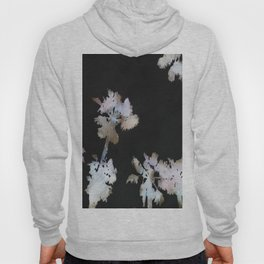 Tropical Palms On Black Background Hoody