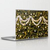 christmas tree Laptop & iPad Skins featuring Christmas Tree by Pati Designs