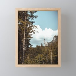 neuschwanstein castle Framed Mini Art Print