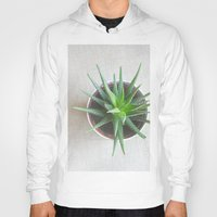 succulent Hoodies featuring Succulent by OldRedCanoe